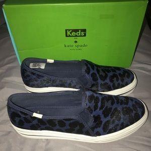 Kate Spade x Keds Leopard Print Sneakers Sz 10